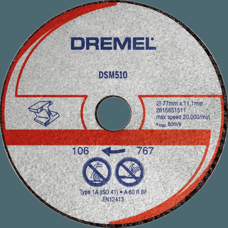 DREMEL® DSM20 Metall- und Kunststofftrennscheibe