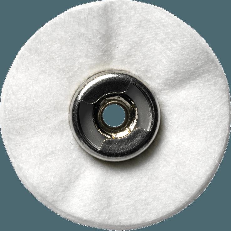 DREMEL® EZ SpeedClic: Textilpolierscheibe.