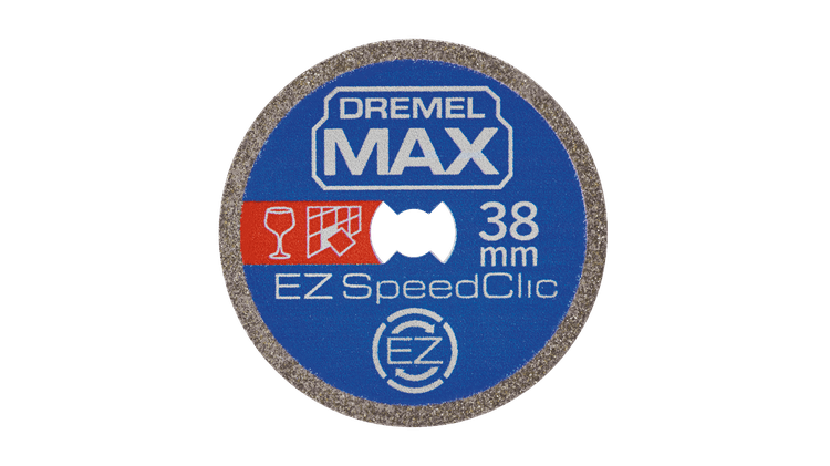 DREMEL® EZ SpeedClic: S545DM Diamant-Trennscheibe