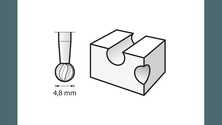 Hochgeschwindigkeits-Fräsmesser
