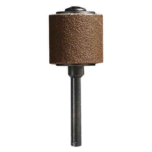 Schleifband 13 mm, Körnung 60, mit Schleifdorn