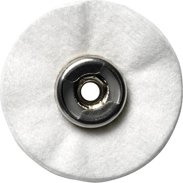 DREMEL® EZ Lock™: Polishing Cloth Wheel.