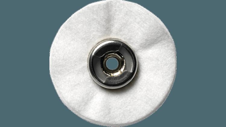 DREMEL® EZ Lock™: Polishing Cloth Wheel.