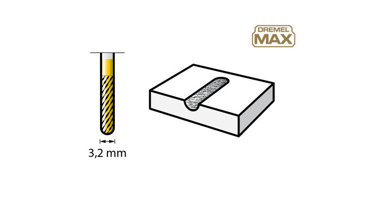 DREMEL MAX LIFE 9903 Tungsten Carbide Cutter