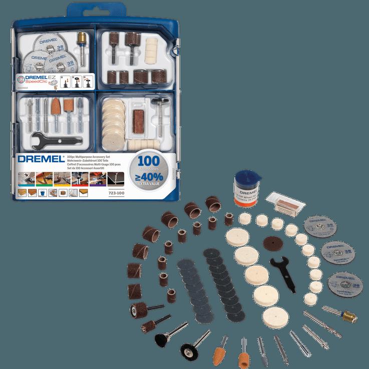 100 pieces DREMEL® Multipurpose Accessory Set
