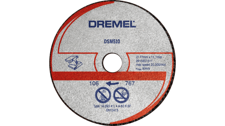 DREMEL® DSM20 Metal and Plastic Cutting Wheel