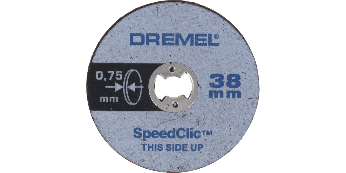 SPEEDCLIC METAL CUTTING 5-PACK Accessory Type Cutting Disc For Use With Dremel Rotary Tool Product R