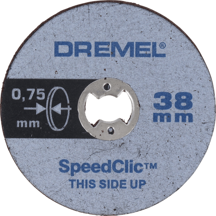 DREMEL® EZ SpeedClic: Thin Cutting Wheels.