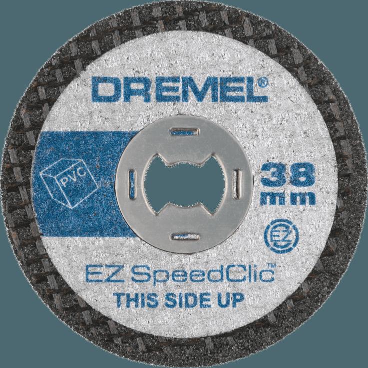Accesorio para Herramientas Rotatorias Disco de Corte para Madera SC544 Dremel SC690 Juego de Accesorios de Corte EZ SpeedClic para Herramientas Rotatorias Di/ámetro de 38mm
