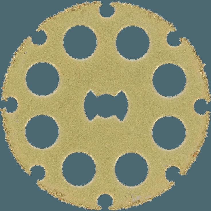DREMEL® EZ SpeedClic : disque à tronçonner pour la découpe du bois.