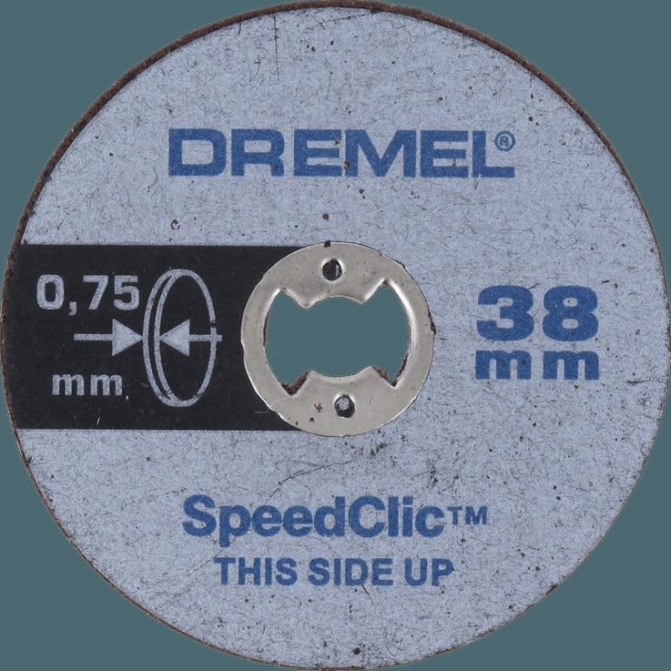 DREMEL® EZ SpeedClic : disques à tronçonner fins.