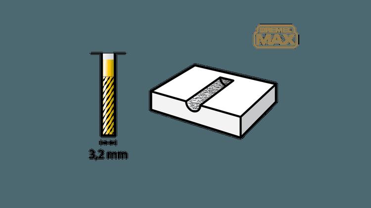 Fraise à sculpter au carbure de tungstène