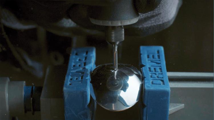 Fraise en carbure de tungstène à bout fléché 3,2mm