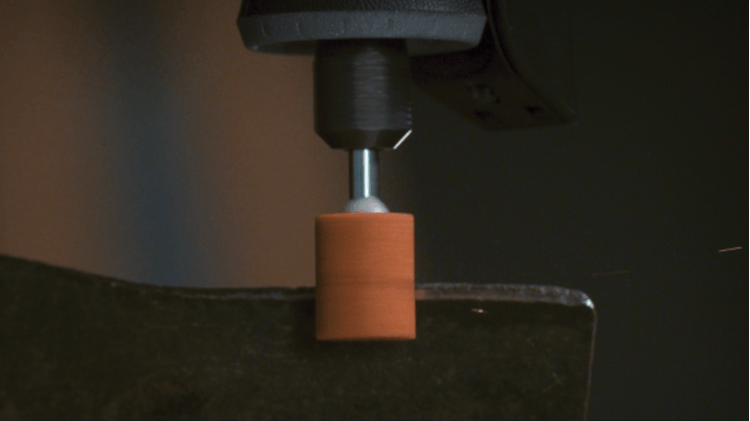 Meule à rectifier en oxyde d'aluminium 9,5 mm