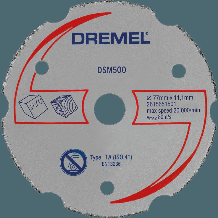 DREMEL® DSM20 többcélú karbid vágókorong