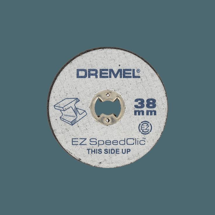 DREMEL® EZ SpeedClic: include 5 dischi da taglio per metallo.