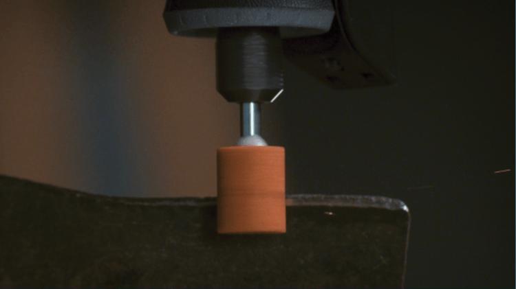 Aluminiumoxide slijpsteen 9,5 mm