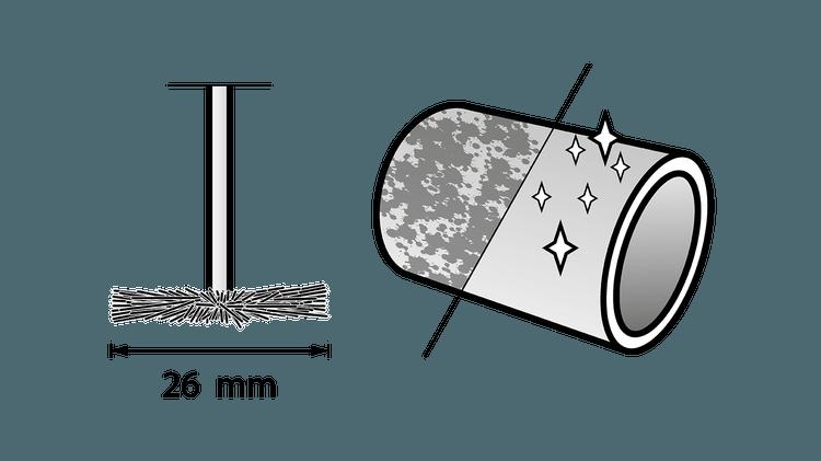 Draadborstel 19 mm