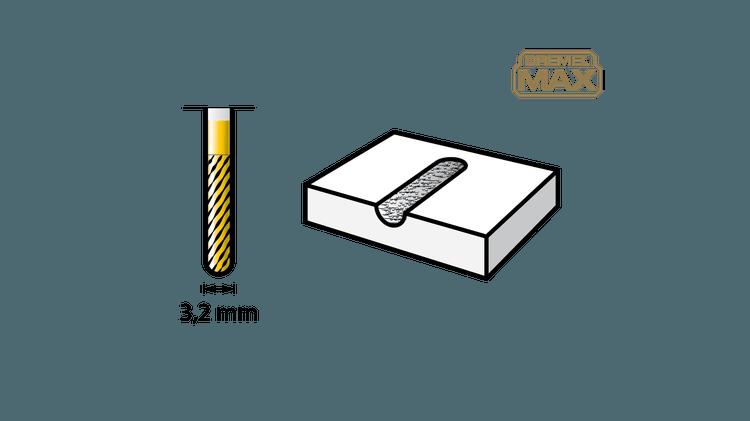 Hardmetalen graveerbit