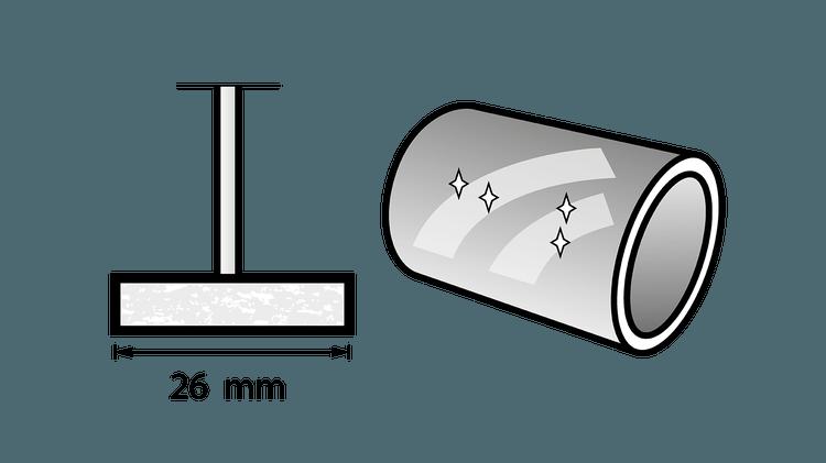 Polijstschijf 26 mm