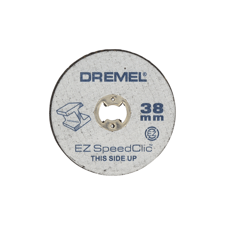 DREMEL® EZ SpeedClic: Discurile de tăiere a metalului, pachet de 5 bucăţi.